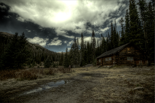 Cabin in the Woods by ishb3w