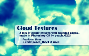 Cloud Textures by princesspeach0221