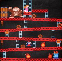 Donkey Kong Madness by Squarepainter