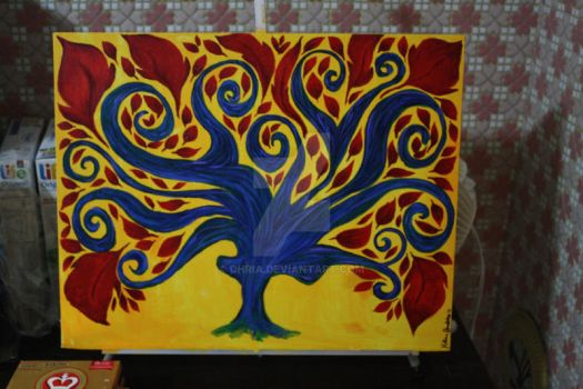 Unfinished Tree by Dhria