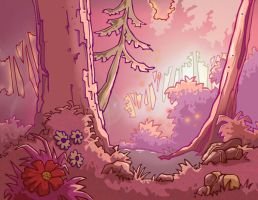 Forest- warm ambiance by Mee-Lin