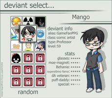 deviant select - Mango by VnixxiR