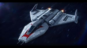 Star Wars Toscan 8-Q Fighter by AdamKop