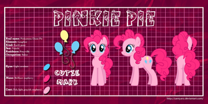 MLP Profiles: Pinkie Pie by ZantyARZ
