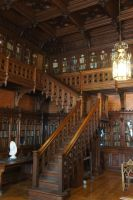 Gothic library 02 by ForestGirlStock
