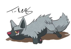 Poochyena by T-Reqs