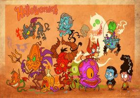 Halloweenies by Garvals