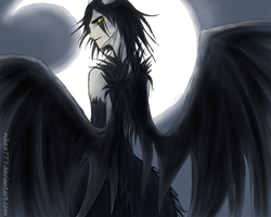 Angel of Darkness by nikea777