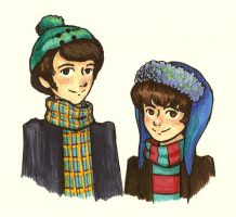 Mike and Davy by FG-Twins