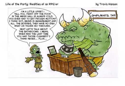 dungeon complaints- Rpg comic by travisJhanson