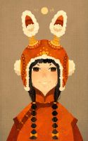 China rabbit hat by freestarisis