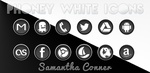 Phoney White Icons/Theme by sammyycakess