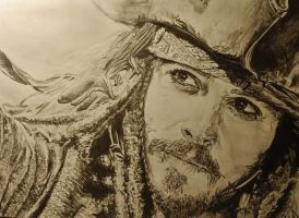 Captain Jack Sparrow by SaerahHaytch