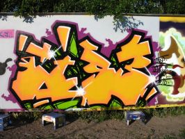 Cise On The Wall by JayFkr