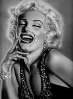 Marilyn Monroe-with whole head by CezLeo