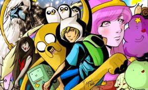 Adventure Time Love by tepaipascual