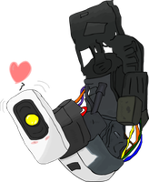 Portal - GLaDOS Colored by Fub4rion