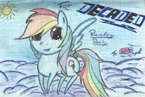 Rainbow Dash for Decaded by MLOpl