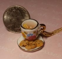 Tea And Cookies Necklace by ninja2of8
