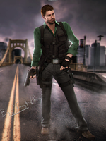 Chris Redfield - Resident Evil 7 by JhonyHebert