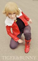 TIGER AND BUNNY: Barnaby Brooks JR. by HauntedKing