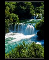 Krka - waterfalls 03 by Wengersky