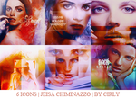 6 ICONS JEISA CHIMINAZZO by cirlyisnotmyname