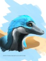 Velociraptor by TheSax66