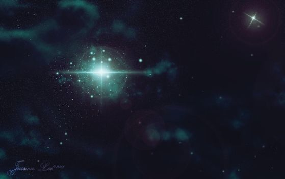 Stars-She shines brightly by daftopia
