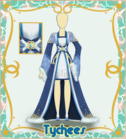 Outfit Adoptable (Auction) #17 CLOSE!!! by Tychees
