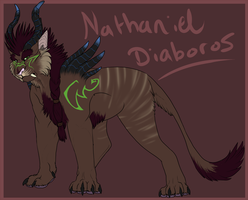 Ref: Nathaniel Diaboros by MintyMaguire