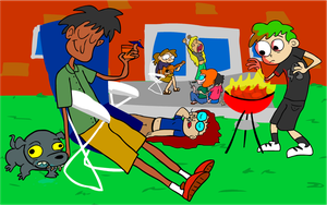Happy Barbeque by EggHeadCheesyBird
