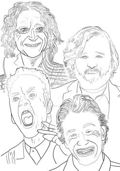 The Perfect Cast (outline) by stevemacqwark
