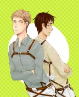 Eren or Jean ? by pop2810