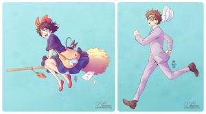 + GHIBLI PARADE - My artworks + by SaraFabrizi