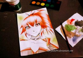 CUL watercolors by Marryhime94