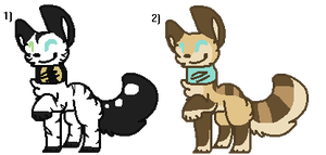 Two more adoptables by Wifi-Hybrid