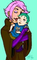 HP: Little Teddy and Tonks by Gothicthundra
