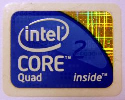 New Core 2 Quad case sticker by PaulRokicki