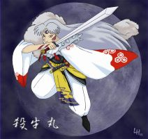 Sesshomaru by MetraGnome