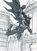 Batman sketch by dichiara