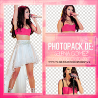 +Pack Png ''Selena Gomez'' -Red Photopacks by JoseAOvando