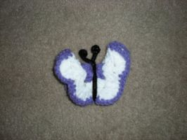 CROCHET: Butterfly1 by Lillmissthang