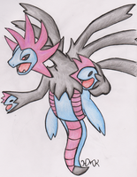 Hydreigon (REQUEST) by Shabou