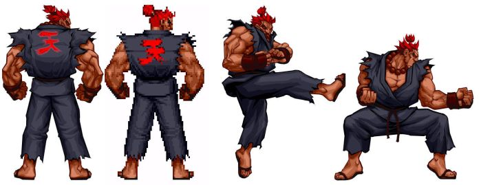 Street Fighter HD - Akuma Test by UdonCrew