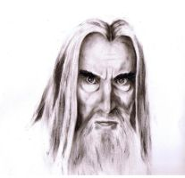 The Hobbit: Saruman by Cocolie