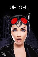 UH OH...Selina - Catwoman by shilohs
