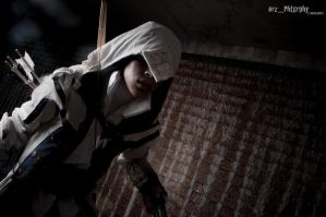 Connor Kenway: Photo By Sonikku10 by Winged-Mouz