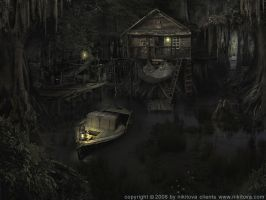 Sleepy hollow. Swamp by kidy-kat