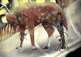 Robotic Wolf for P13Darksight by Faustina13